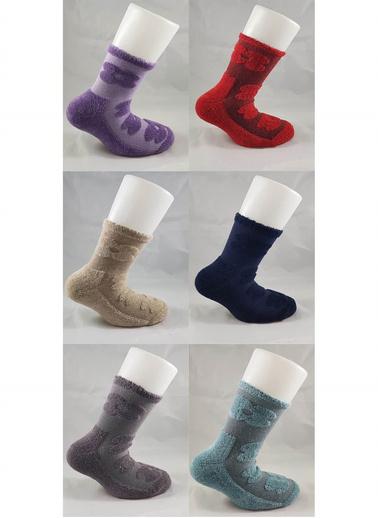 Akbeniz Çorap Renkli